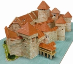 AE1012  Chillon Castle 1:190 kit