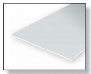 9006  Gladde plaat 152x292 mm - Clear 0.3 mm