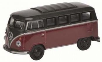 20104  Volkswagen T1 bus  rood/zwart