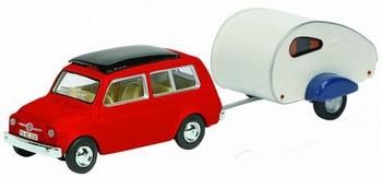 26106  Fiat 500 + Caravan