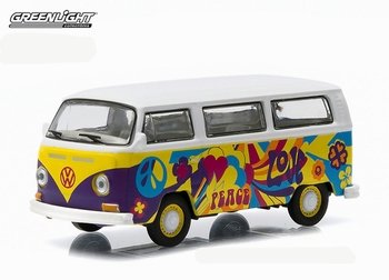 "51009C  Volkswagen Bus ""Flower Power"""