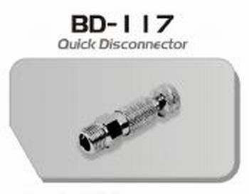 """999BD117  Snelkoppeling aansluiting 1/8"""""""