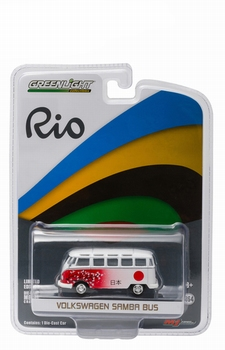 "51037D  Volkswagen Samba bus "" 2016 Rio Olympic Japan """