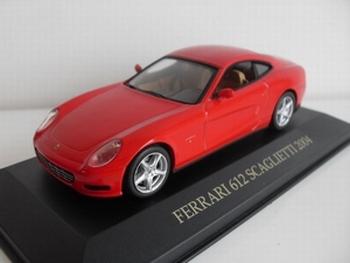 1365  Ferrari 612 Scaglietti  rood