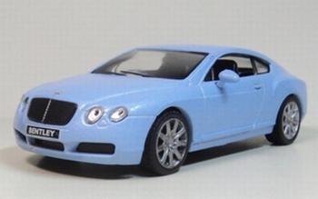 1378  Bentley Continental GT  lichtblauw