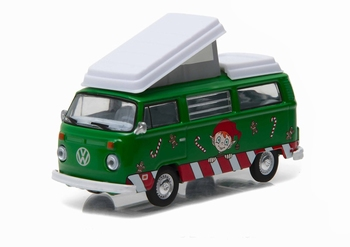 51077A  Volkswagen Type2 Campmobile (Green)