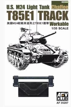 AFV35287  U.S. M24 Light Tank Chaffee T85E1 Track