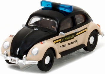 42790F Volkswagen Beetle Police Car Tennessee State Trooper