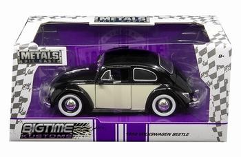 990188  Volkswagen Beetle 1959 Black Cream
