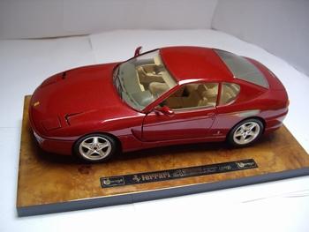 3746  Ferrari 456 GT 1:18 maroon