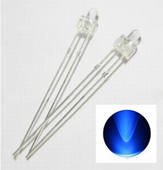 896A  LED Diode Butterfly Nipple Blauw (helder)