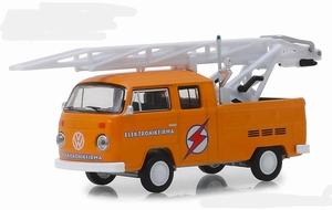 29960D  972 Volkswagen Type 2 Double Cab Pickup Ladder Truck