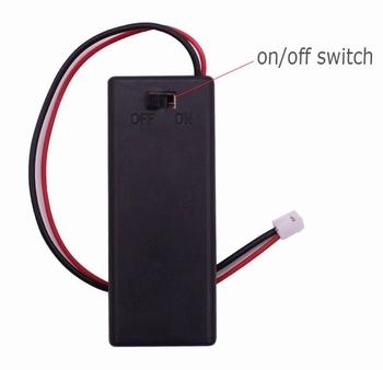 900U  2AAA Batterijhouder + Schakelaar