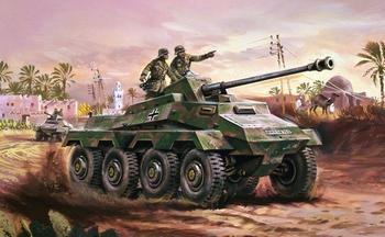 A01311  SDKFz.234 Armoured Car
