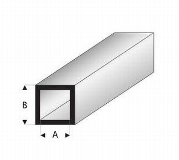 0992D  Vierkant Buis profiel  5 x 5 mm  4x