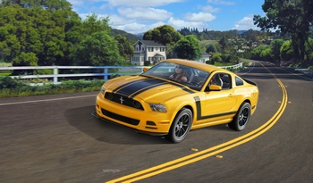 RE7652 2013 Ford Mustang Boss 302