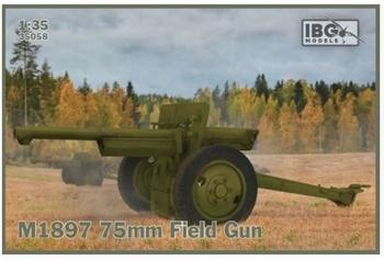 IBG 35058  M1897 75 mm Field Gun