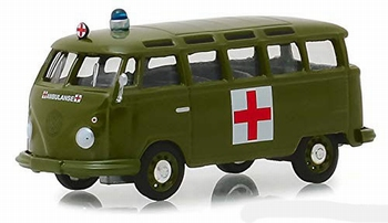 29940A  Volkswagen Samba Bus Army Ambulance