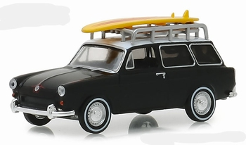 29940B Volkswagen Type 3 Squareback Surf Wagon 1965 w Roof R