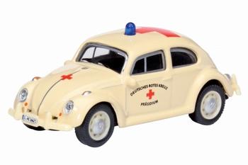 """26057  VW Käfer """"DRK Präsidium"""" duits rood kruis"""