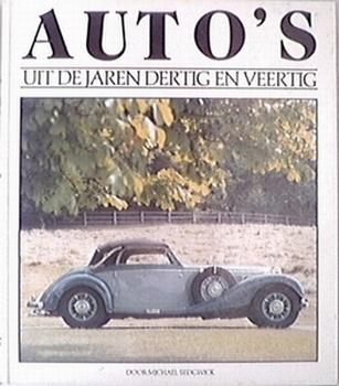 9859  Auto''s uit de jaren dertig tot veertig