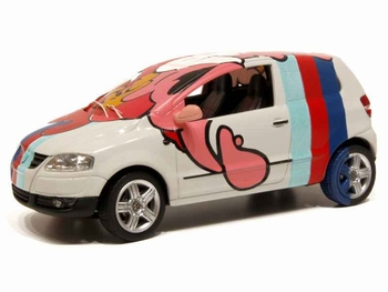 "819901105  Volkswagen Fox "" Art Car Rainbow """