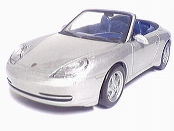 9153  Porsche 911 Carrera Cabriolet 1998 (zilver)