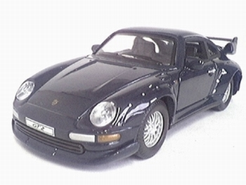 9228  Porsche 911 GT2 1996 (donkerblauw)