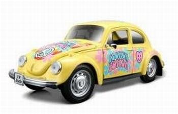 32302G  Volkswagen Kever (geel)