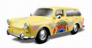 32303GE  Volkswagen 1600 Squareback (geel)