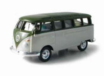 96032 Volkswagen Samba Bus (groen/wit)