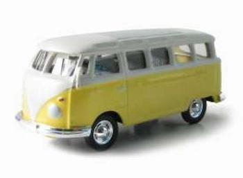 96031 Volkswagen Samba Bus (geel)