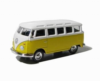 96060K Volkswagen Samba Bus (geel-wit)