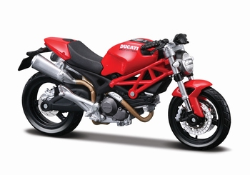 8056  Ducati Monster 696 (rood)