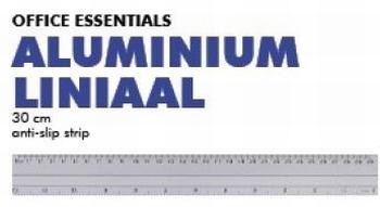 5406  Liniaal Aluminium met anti-slip strip