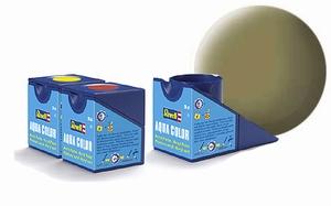 36142  Aqua Geel-olijf mat