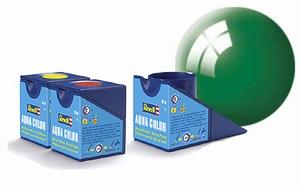 36161  Aqua Smaragdgroen glans
