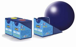 36350  Aqua Lufthanza-blauw zijdeglans