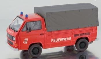"""13102  Volkswagen T3b Pick-up """" Feuerwehr """""""