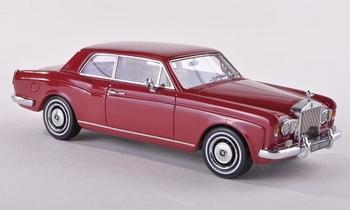 44185  Rolls Roys Corniche FHC donkerrood