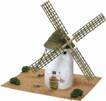 AE1255  La Mancha windmill