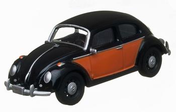96100i  Volkswagen Kever  zwart/rood