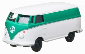 96100K  Volkswagewn bestel bus  wit/groen