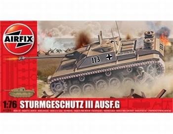 A01306  Sturmgeschutz III Ausf.G 75mm Assault Gun