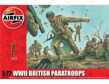 A01723  WWII British Paratroops