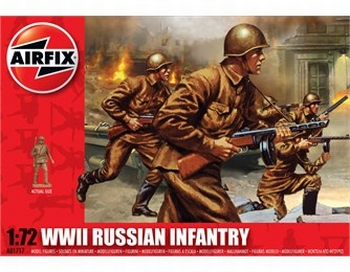 A01717  WWII Russian Infantry