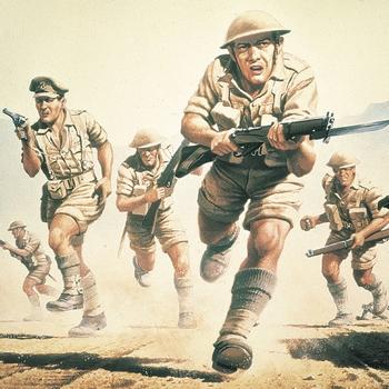 A00709  WWII British 8th Army