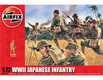 A01718  WWII Japanese Infantry