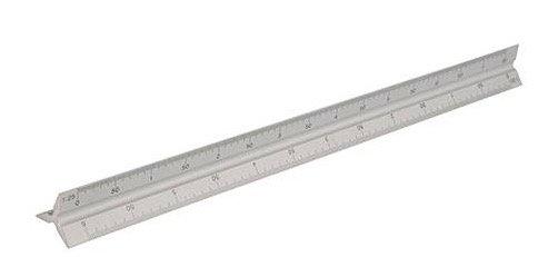 011194  Aluminium Driehoekige schaalstok