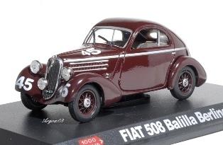 1104  Fiat 508 Balilla Berlinatta Mille Miglia 1936